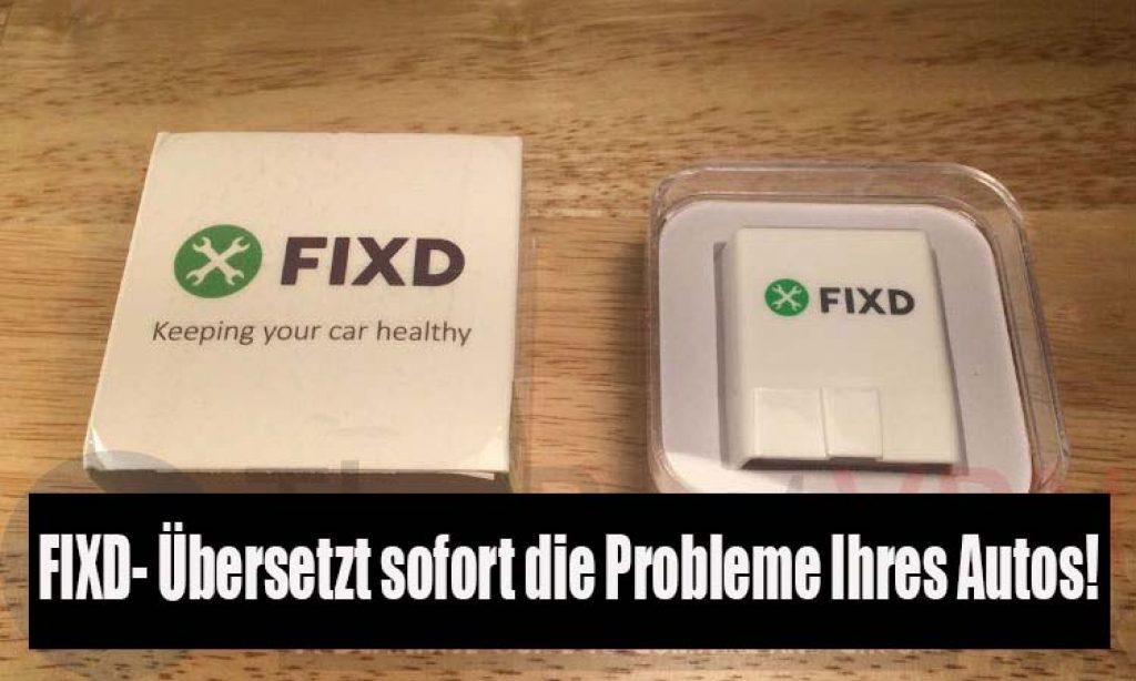 FIXD ERFAHRUNG