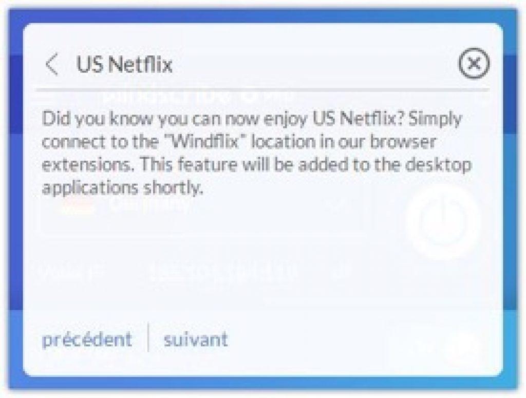 Windscribe VPN ubd Netflix