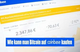 Coinbase Erfahrungen   Wie kauft man Bitcoin auf Coinbase?