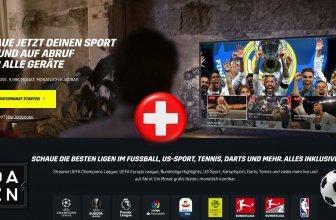 Das Netflix für Sport DAZN Schweiz